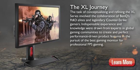 XL-Series PC Monitors