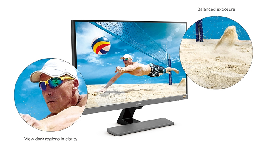 BenQ EL2870U Colors Stay Original