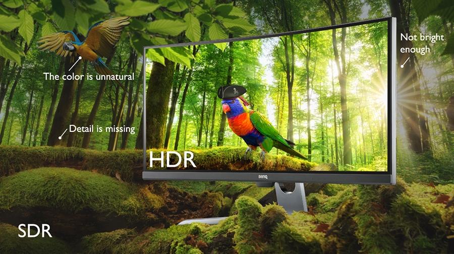 BenQ EX3501R HDR