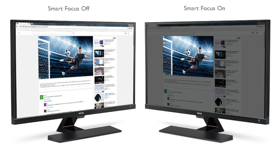 BenQ EW3270ZL Smart Focus