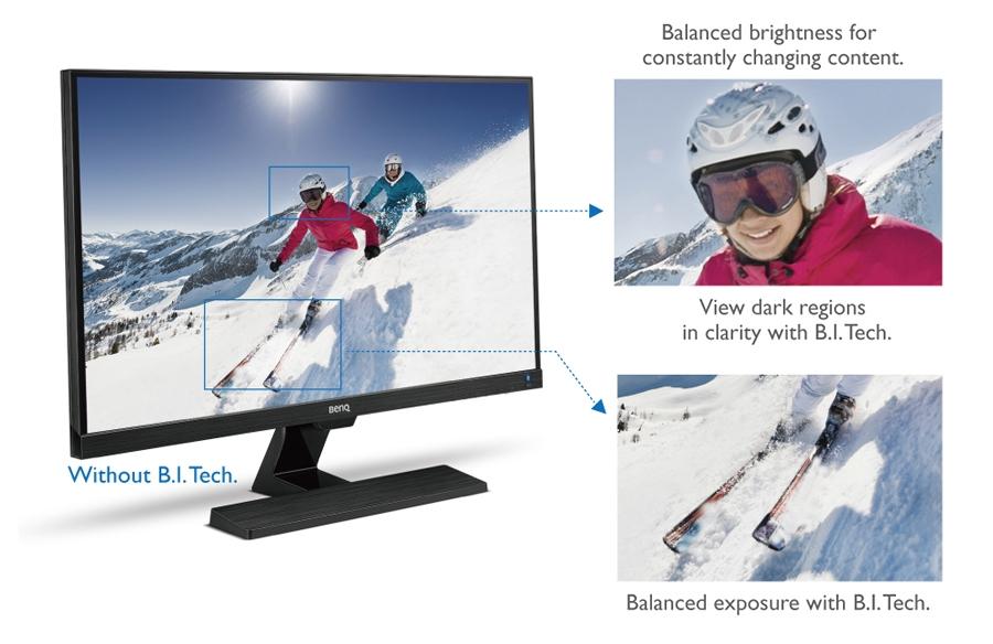 BenQ EW3270ZL Brightness Balance