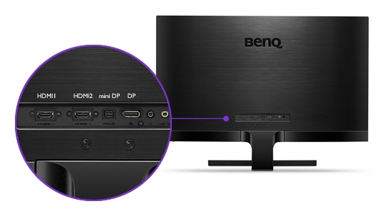 BenQ EW3270ZL Multi-Device Connectivity