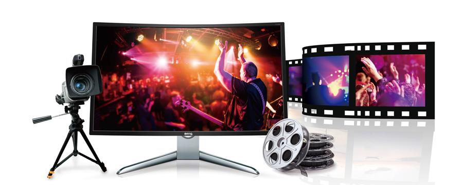 BenQ EX3200R Video Format Support