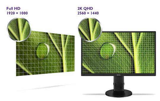 BenQ GL2706PQ 2k 1440p QHD Monitor