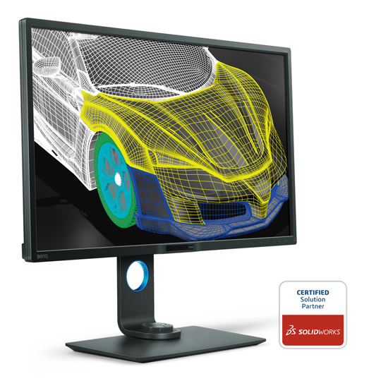 BenQ PD3200U CAD/CAM Mode