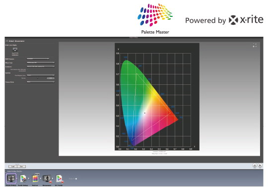 BenQ PV270 Pallete Master Calibration Software