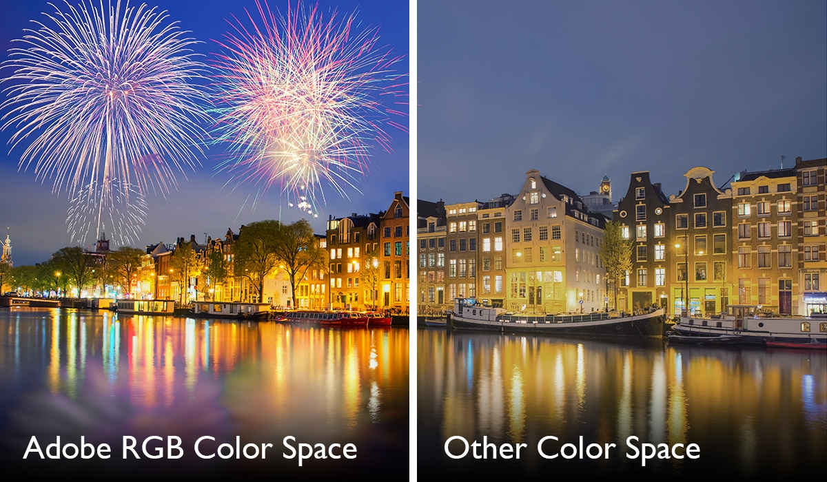 BenQ SW240 99% Adobe RGB Color Space