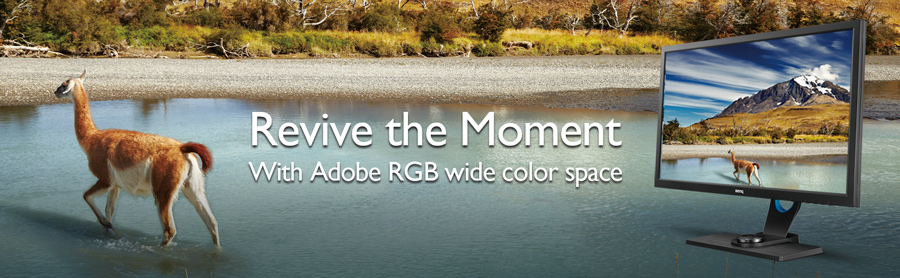 BenQ SW320 Adobe RGB Color Space