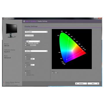 BenQ SW320 Palette Master Element Calibration Software