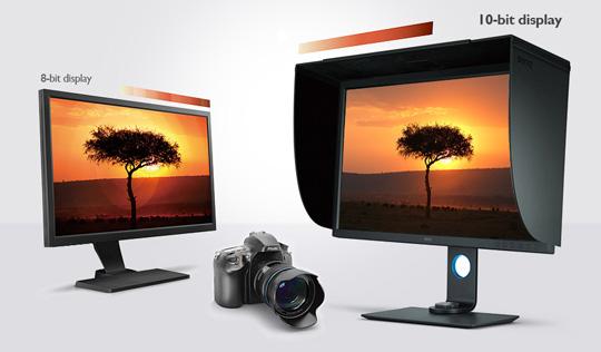 BenQ SW320 10-bit Color Display