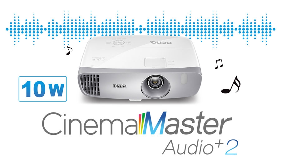 BenQ HT2050A CinemaMaster Audio+ 2