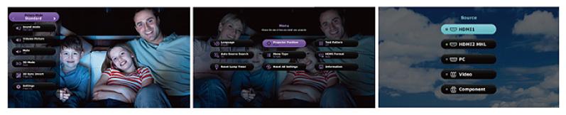 HT2150ST User Interface Design