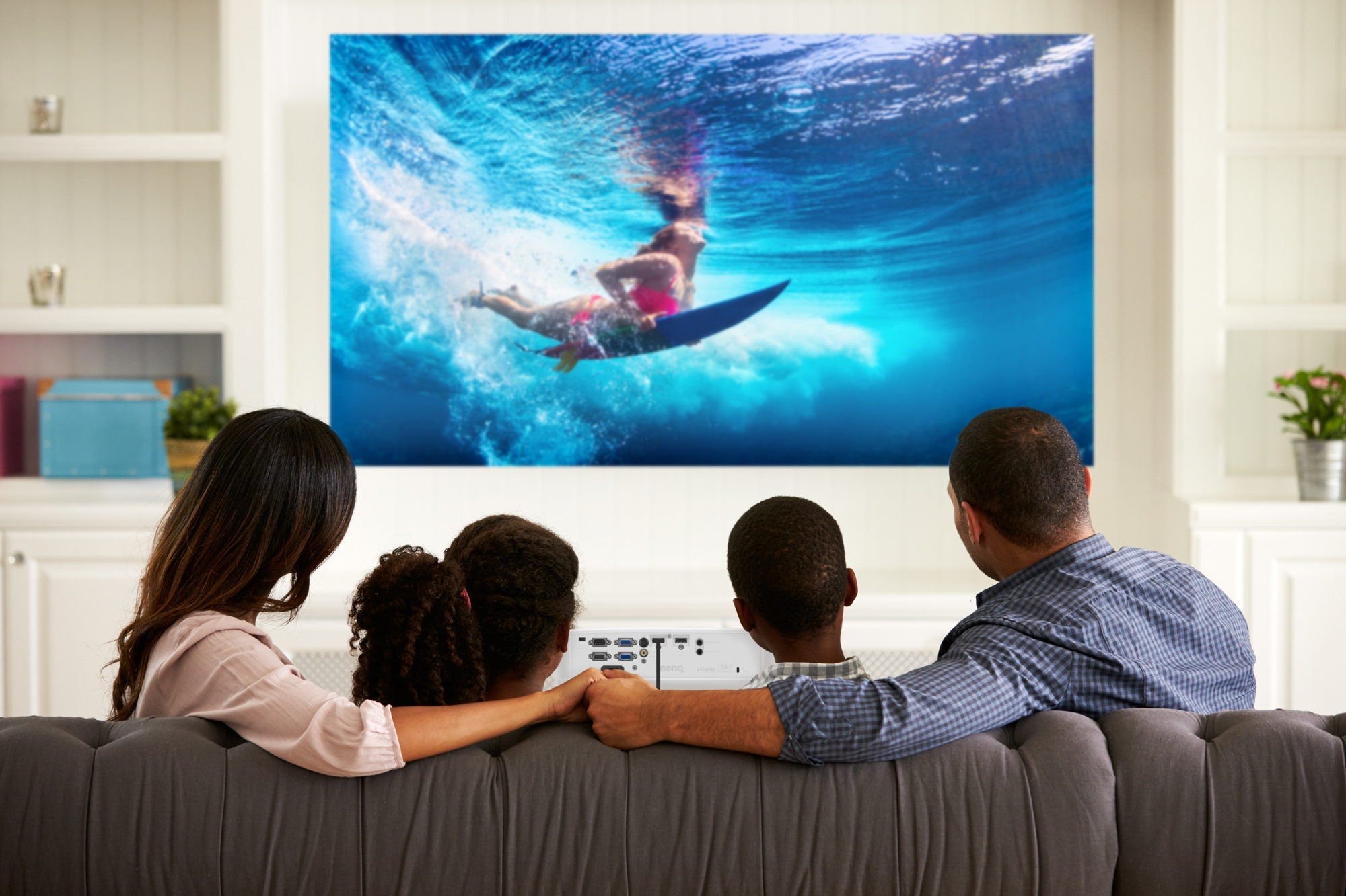 BenQ MH530FHD Big and Bright Picture