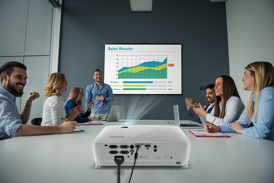 BenQ MS524AE Designed for Presentations