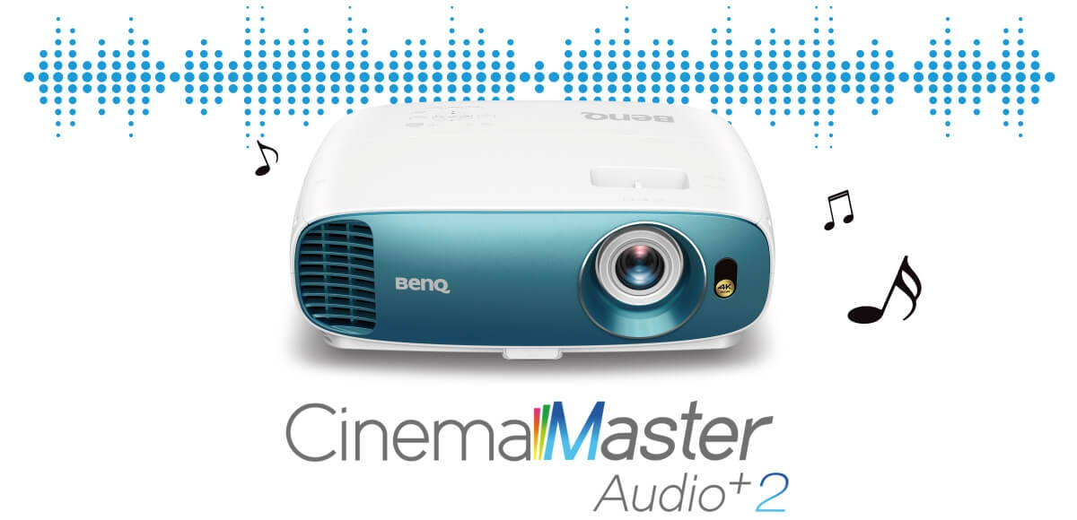 BenQ TK800 Cinemaster Audio+ 2