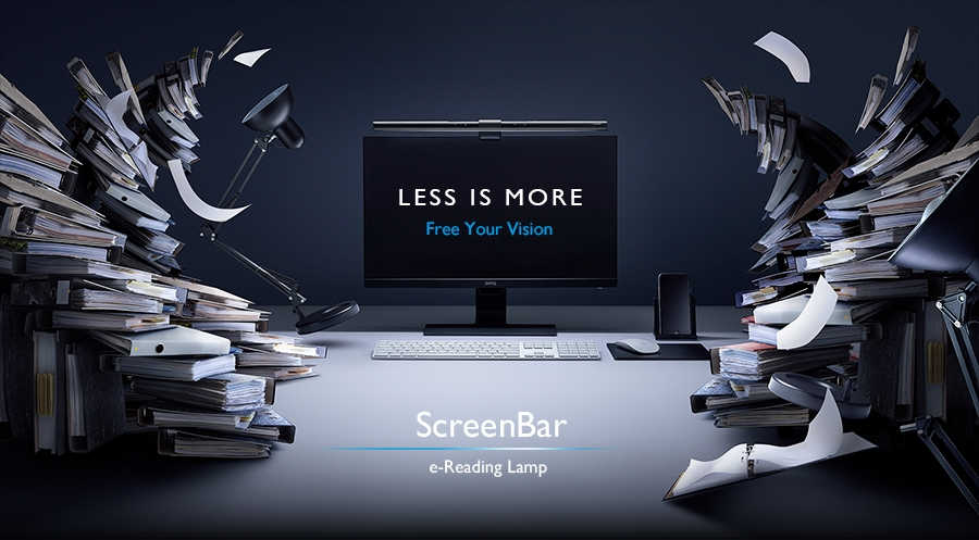 BenQ ScreenBar e-Reading Lamp Less is More