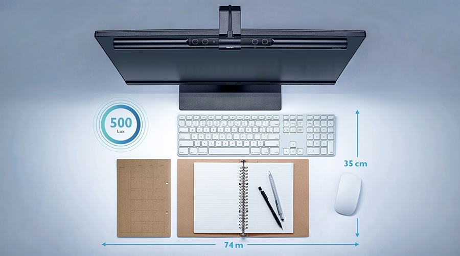 BenQ ScreenBar e-Reading LED Lamp Desk Surface Light